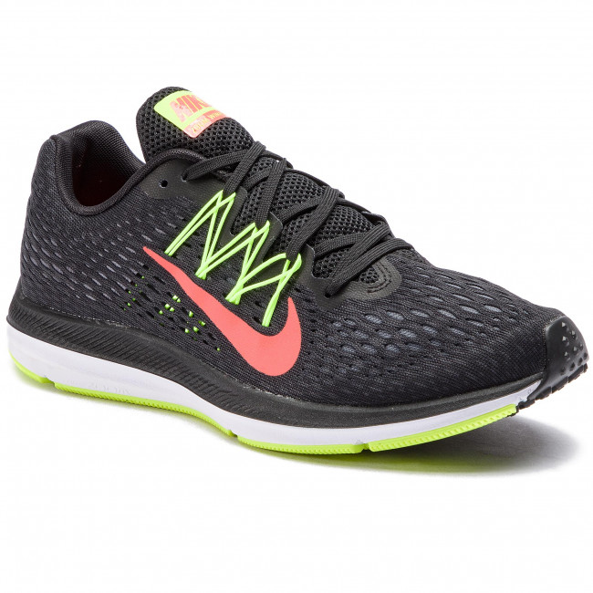 Shoes NIKE - Zoom Winflo 5 AA7406 004 Black Bright Crimson Volt ... defc59f3f999