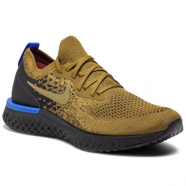 8cb5cf1ebd44 Shoes NIKE - Epic React Flyknit AQ0067 301 Olive Flak Olive Flak ...