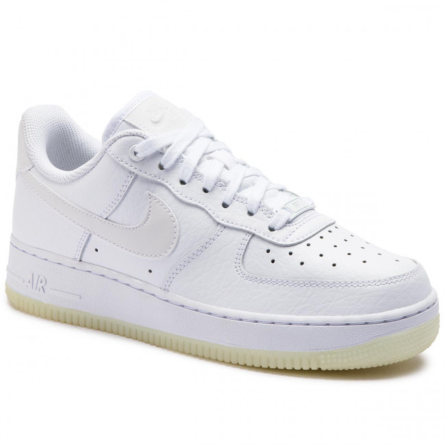 conjunto agrio Regaño  Shoes NIKE - Air Force 1 '07 Ess AO2132 101 White/White/White - Sneakers -  Low shoes - Women's shoes | efootwear.eu