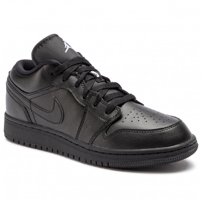 promo code 85067 26ee5 Shoes NIKE. Air Jordan 1 Low (GS) 553560 006 Black White Black. New