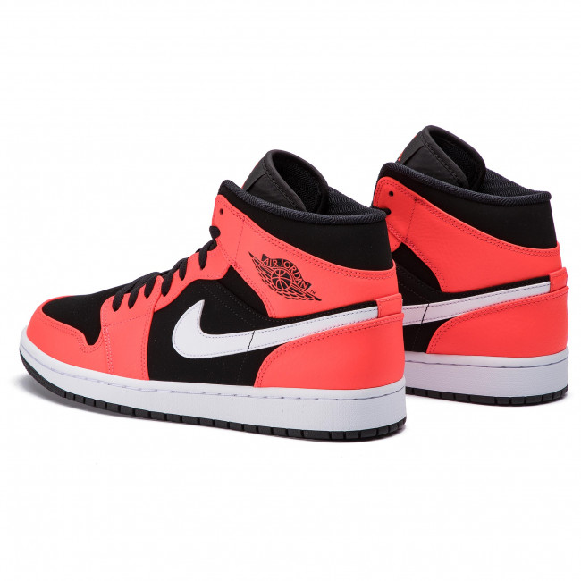 jordan 1 mid infrared 23 on feet