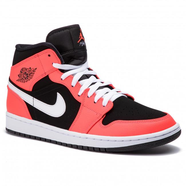 new styles 4d81b 4c5c2 Shoes NIKE. Air Jordan 1 Mid 554724 061 Black Infrared 23 White