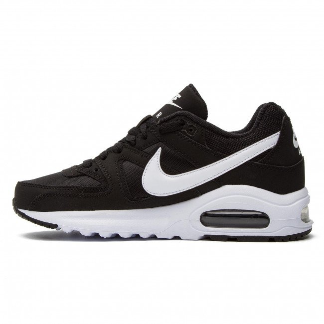 Shoes NIKE Air Max Command Flex (GS) 844346 011 BlackWhiteWhite