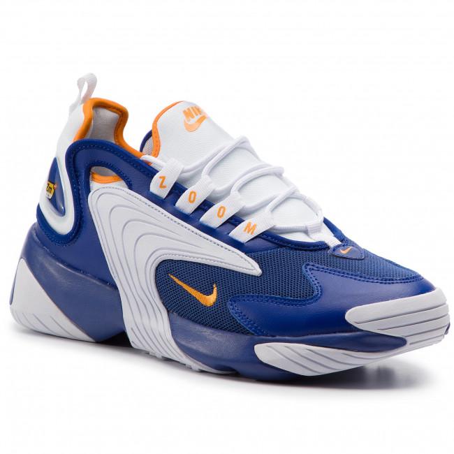 new arrival 28bee ff638 Shoes NIKE. Nike Zoom 2K AO0269 400 Deep Royal Blue Orange Peel. New