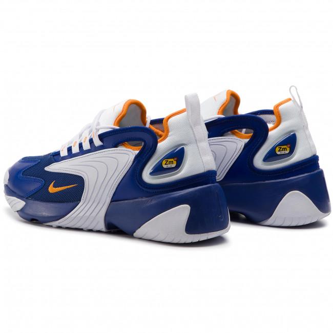 new arrival 14f09 5661d Shoes NIKE - Nike Zoom 2K AO0269 400 Deep Royal Blue Orange Peel