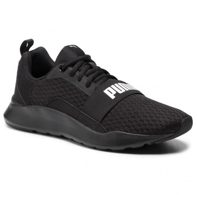 ef5ceeb02bd Shoes PUMA - Wired 366970 01 Puma Black Puma Black Black - Fitness ...