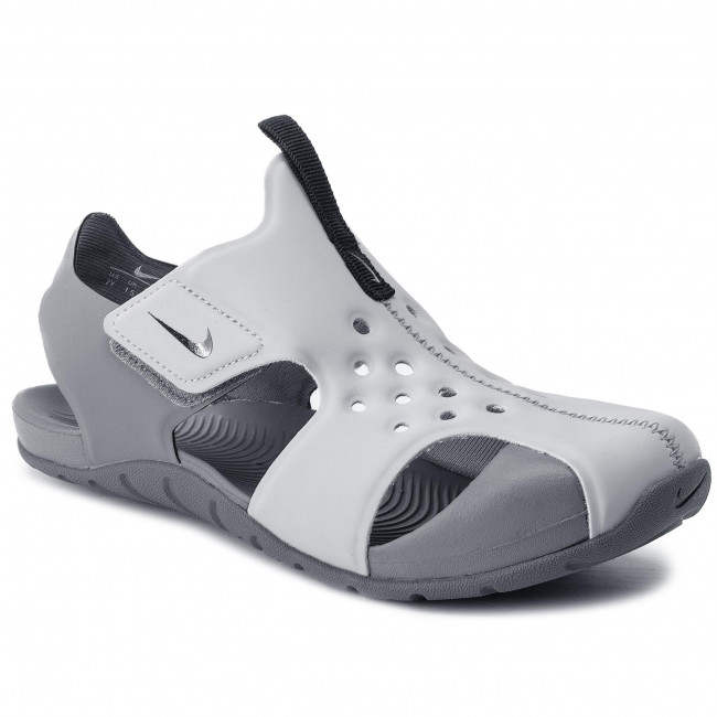 4a5ec123482 Sandals NIKE - Sunray Protect 2 (PS) 943826 004 Wolf Grey Black ...