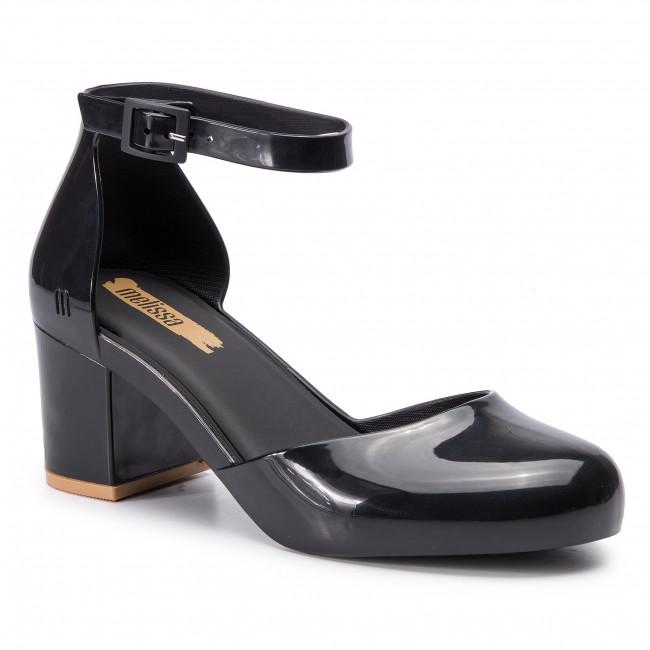 2c6e6b41a3 Shoes MELISSA - Femme High Ad 32547 Black Beige 51496 - Heels - Low ...