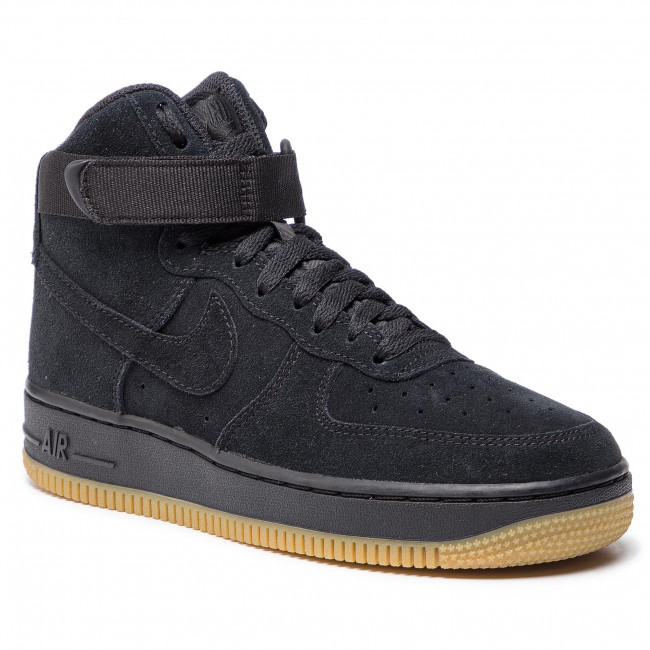 best loved 35a9f 58969 Shoes NIKE - Air Force 1 High Lv8 (GS) 807617 002 BlackBlack