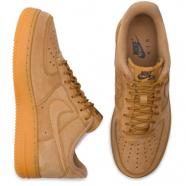 Shoes NIKE Air Force 1 '07 Wb AA4061 200 FlaxFlaxGum Light Brown