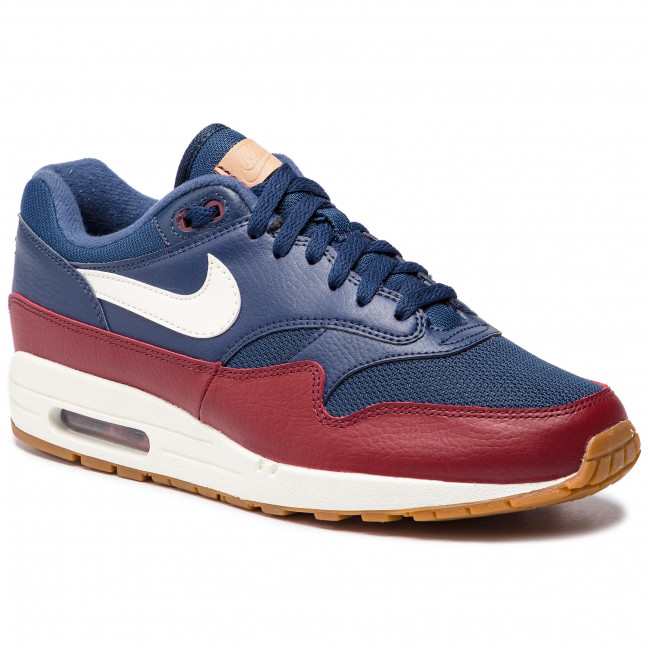 finest selection bcda1 26c39 Shoes NIKE. Air Max 1 AH8145 400 Navy Sail Team Red Sail