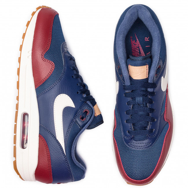 finest selection e4df9 c7070 Shoes NIKE - Air Max 1 AH8145 400 Navy Sail Team Red Sail - Sneakers - Low  shoes - Men s shoes - www.efootwear.eu