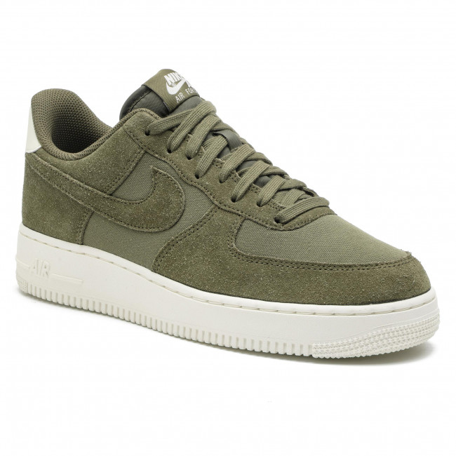 the best attitude ca7f9 bb67a Shoes NIKE. Air Force 1  07 Suede AO3835 200 Medium Olive Medium Olive Sail
