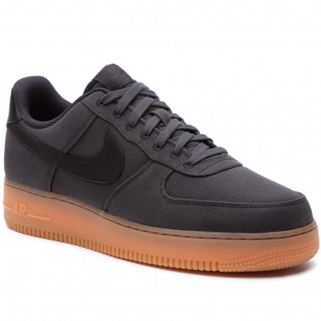 sports shoes 8982a d0564 Shoes NIKE. Air Force 1  07 Lv8 Style AQ0117 002 Black Black Gum ...