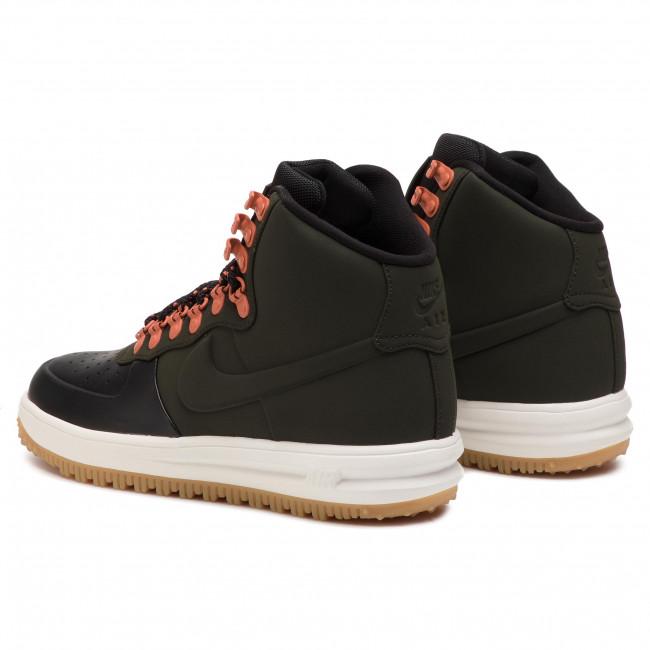 low priced 2e5c1 2d5c3 Shoes NIKE - Lunar Force 1 Duckboot  18 BQ7930 004 Black Sequoia Sail