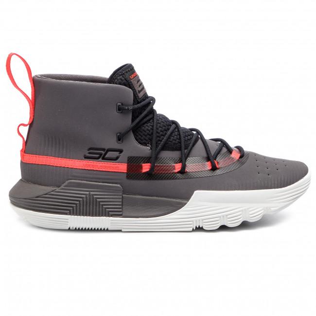 bf5c4490e41 Shoes UNDER ARMOUR - Ua Sc 3Zer0 II 3020613-101 Gry - Basketball ...