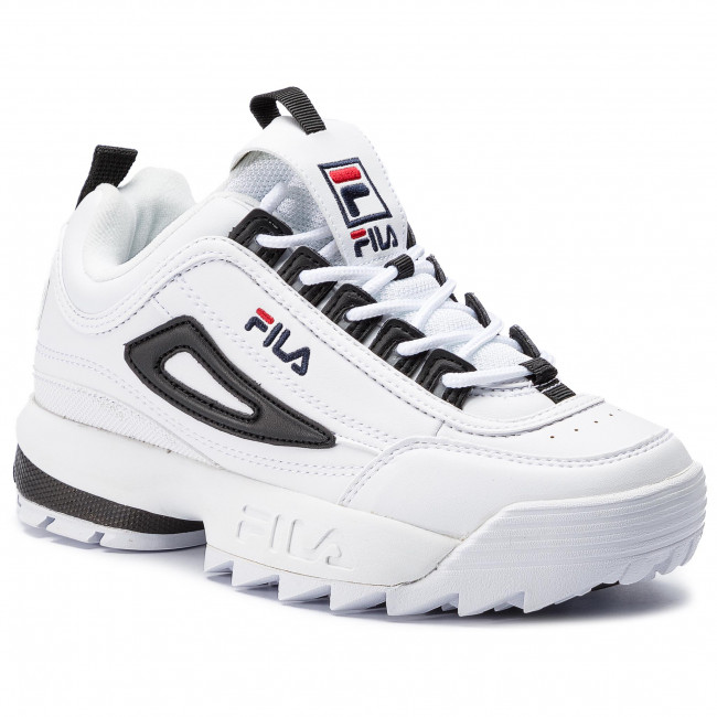 656d42846190d Sneakers FILA - Disruptor Cb Low Wmn 1010604.00E White Black ...