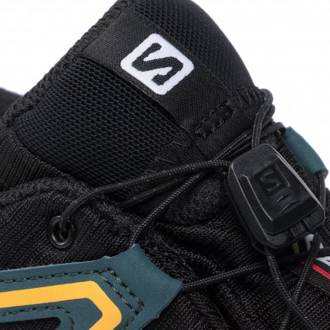 Shoes SALOMON Speedcross 4 Gtx GORE TEX 407861 29 V0 BlackReflecting PondSpectra Yellow