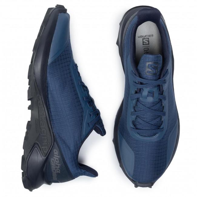 Shoes SALOMON Alphacross 407982 27 V0 Sargasso SeaNavy BlazerIndia Ink