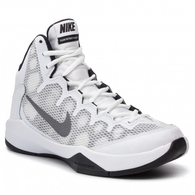 650c784b7445 Shoes NIKE - Zoom Without A Doubt 749432 100 White Rflct Silver Blk ...