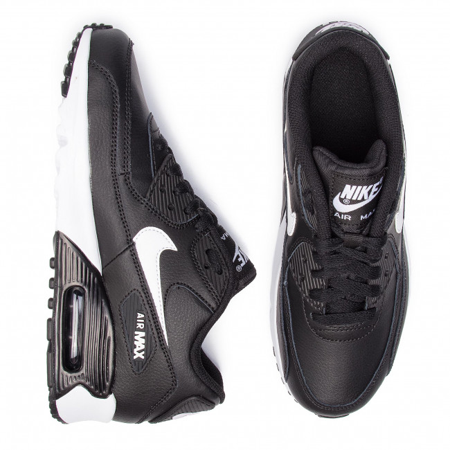 Shoes NIKE Air Max 90 Ltr 90 (GS) 833412 025 BlackWhitAntracite