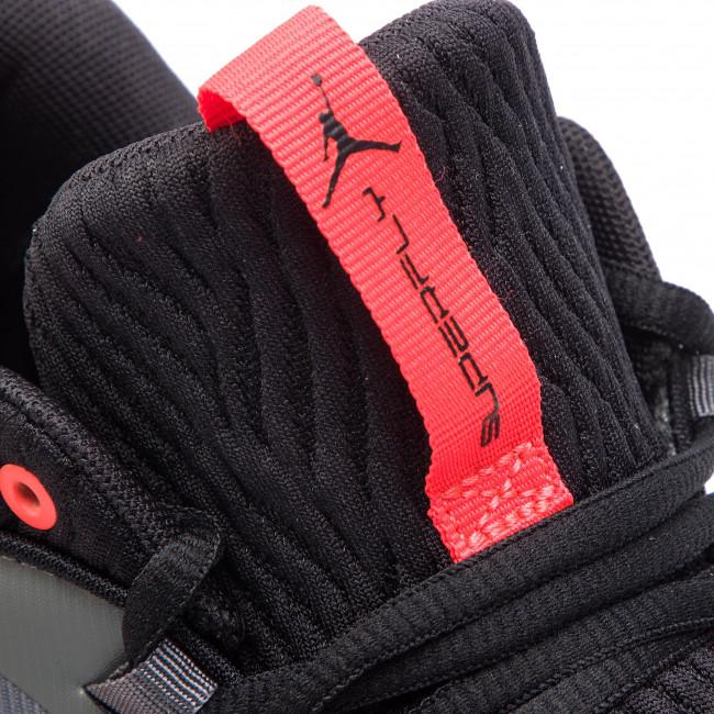 size 40 81278 e66c0 Shoes NIKE - Jordan Super.Fly Mvp Low AO6223 001 Iron Grey Black Bright  Crimson - Basketball - Sports shoes - Men s shoes - www.efootwear.eu