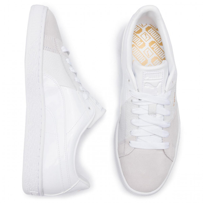 Sneakers PUMA Basket Remix Wn's 369956 03 Puma WhitePuma Team Gold