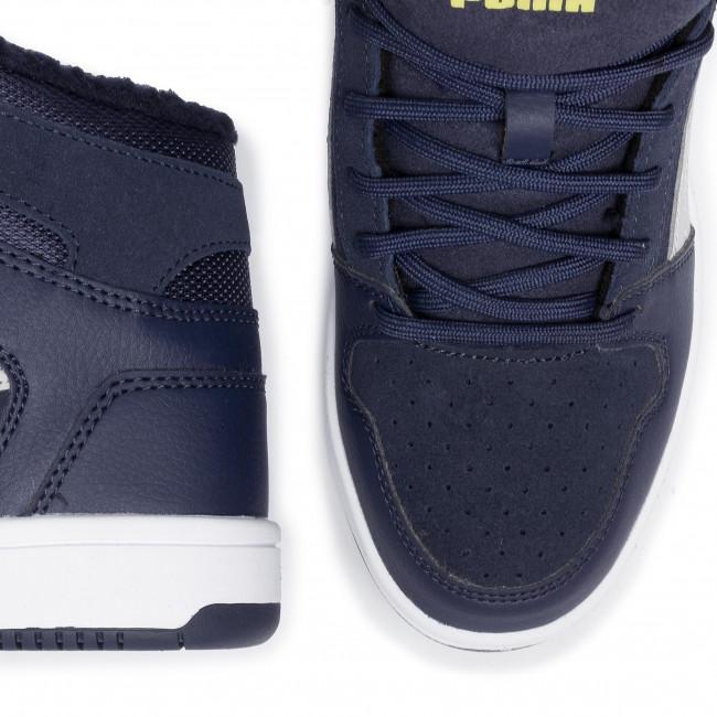 Sneakers PUMA Rebound Layup Fur SD Jr 370497 03 YellowWht