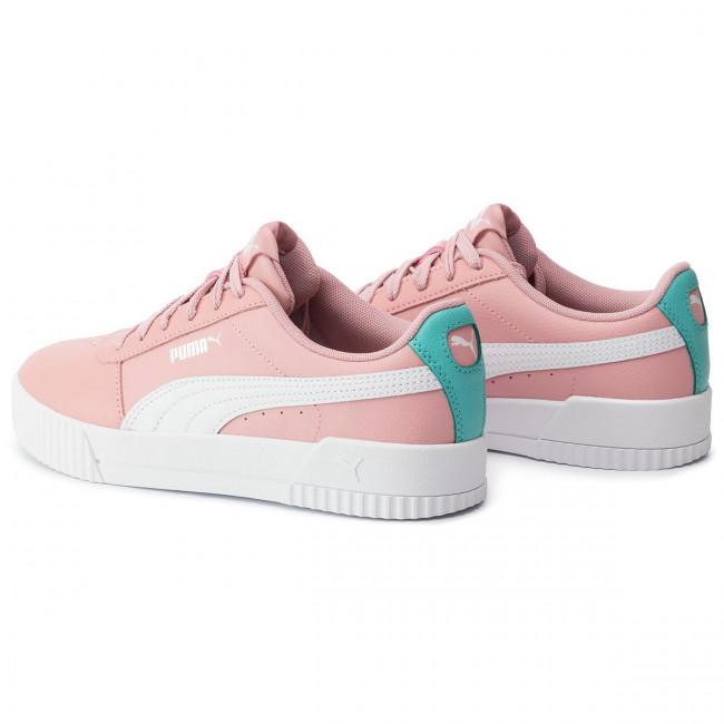 Sneakers PUMA - Carina L Jr 370677 03 Bridal Rose/Puma White