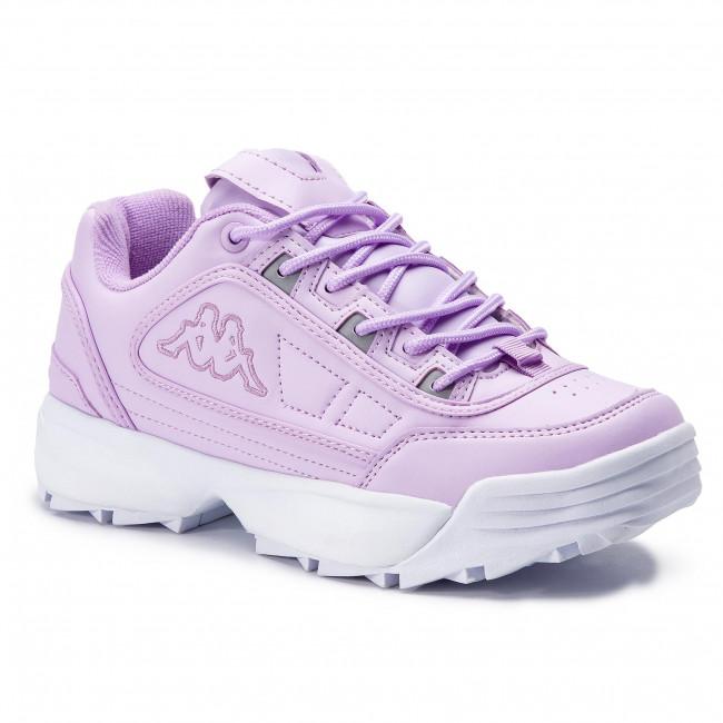 b8ebbc4c221 Sneakers KAPPA - Rave 242681 Flieder/White 2410 - Sneakers - Low ...