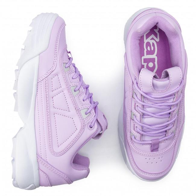 b165c9d7f00 Sneakers KAPPA - Rave 242681 Flieder/White 2410 - Sneakers - Low shoes -  Women's shoes - www.efootwear.eu