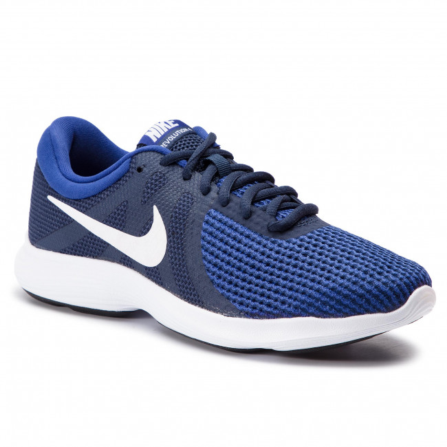 competitive price 2d516 fd3ca Shoes NIKE - Revolution 4 Eu AJ3490 414 Midnight Navy White - Indoor ...