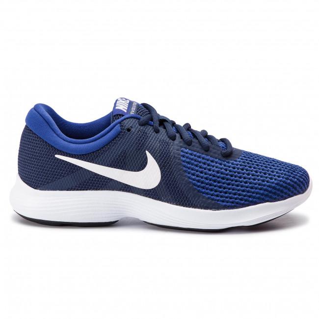 971b464634cc Shoes NIKE - Revolution 4 Eu AJ3490 414 Midnight Navy White - Indoor ...