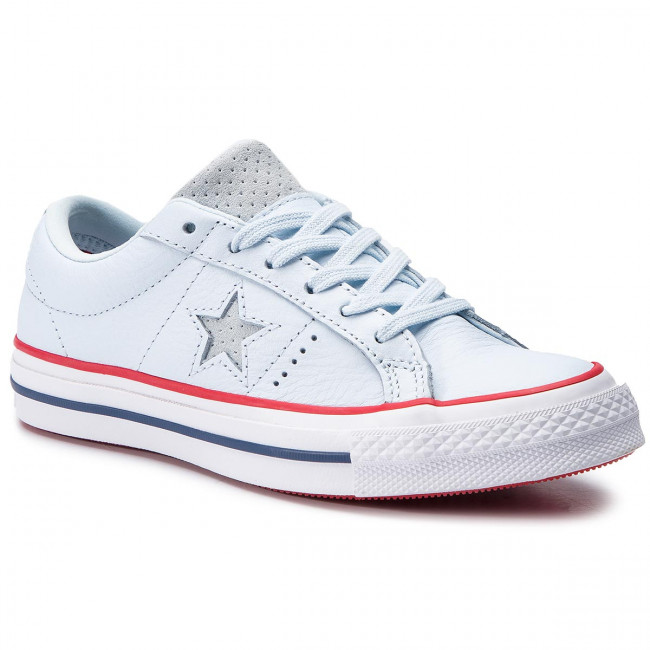 d13890e7ec35 Plimsolls CONVERSE - One Star Ox 160626C Blue Tint Gym Red White ...