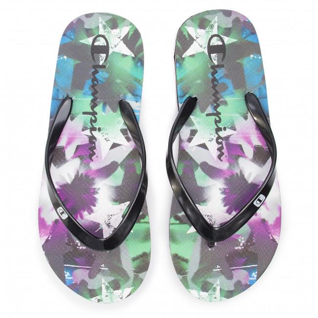 838fed35d588f Slides CHAMPION - Big Classic Evo S10636-S19-KK003 Nbk Stars - Flip-flops -  Mules and sandals - Women s shoes - www.efootwear.eu