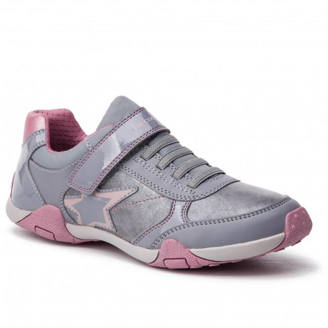 f33a0ead1d Sneakers GEOX - J Tale B J8421B 00254 C1006 D Grey - Velcro - Low ...