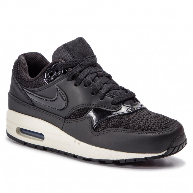 san francisco d69e6 aa808 Shoes NIKE - Air Max 1 319986 039 Black Black Black Summit White
