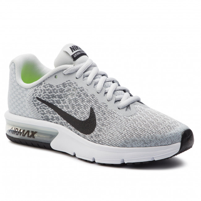 sneakers for cheap 29f57 d8d0a Shoes NIKE. Air Max Seqent 2 (GS) 869993 006 Pure Platinum Black Cool Grey