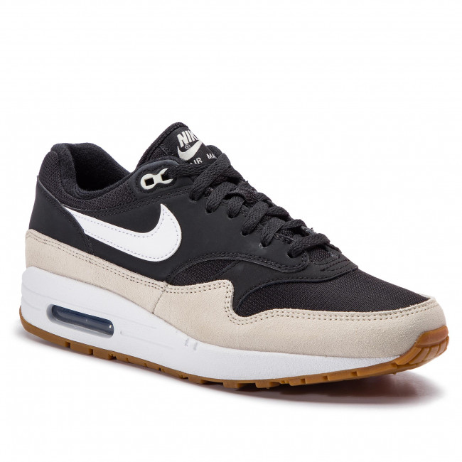 brand new 735ee c77ab Shoes NIKE - Air Max 1 AH8145 009 Black/White/Light Bone - Sneakers ...