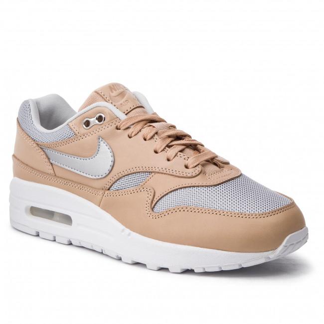 9b9ade69bf Shoes NIKE. Air Max 1 Se Prm AO0795 200 Vachetta Tan/Metallic Silver