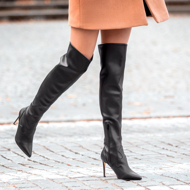 Over-Knee Boots GUESS - Baylie FL8BAY