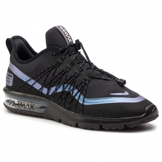 db6e92bcdcc Shoes NIKE. Air Max Sequent 4 Utility AV3236 005 Black RacerBlue Thunder  Grey