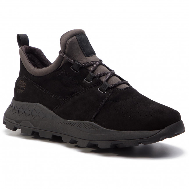 a59cd148 Sneakers TIMBERLAND - Brooklyn Lace Oxford TB0A1W9B0151 Black Suede ...