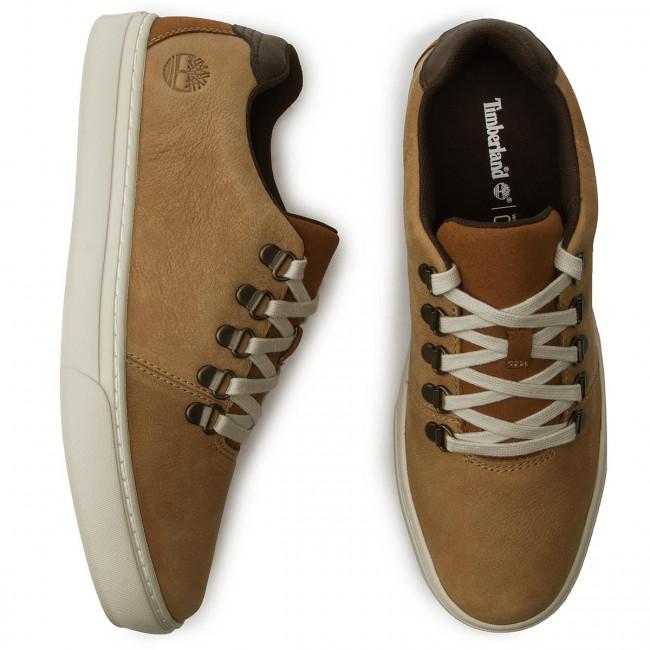 Wheat TIMBERLAND Leather Ox TB0A1XNA231 Nubuck Dauset Sneakers Apline AL3jq5c4R