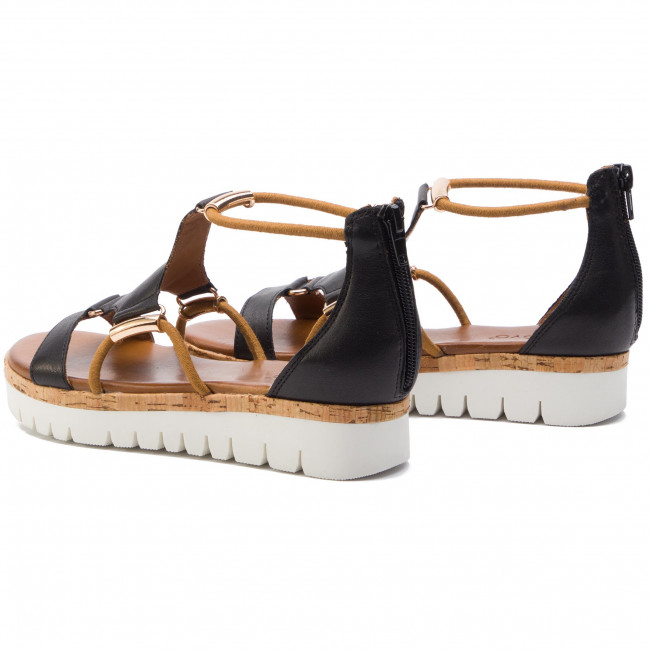 Sandals Casual Mules And Inuovo 8979 Black 7vIbf6yYgm