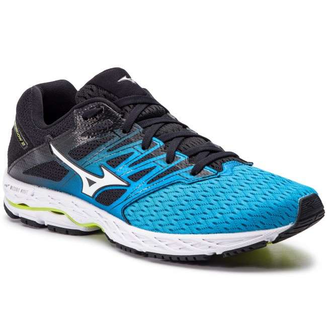 size 40 558f5 5580b Shoes MIZUNO - Wave Shadow 2 J1GC183001 Black Blue - Indoor ...