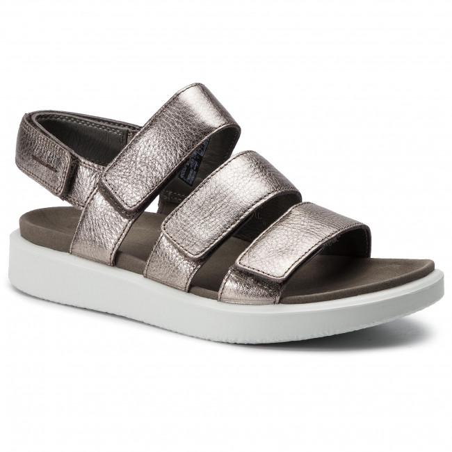 Casual Metallic Sandals W Ecco Warm Flowt 27363354893 Grey 7gyvYfb6