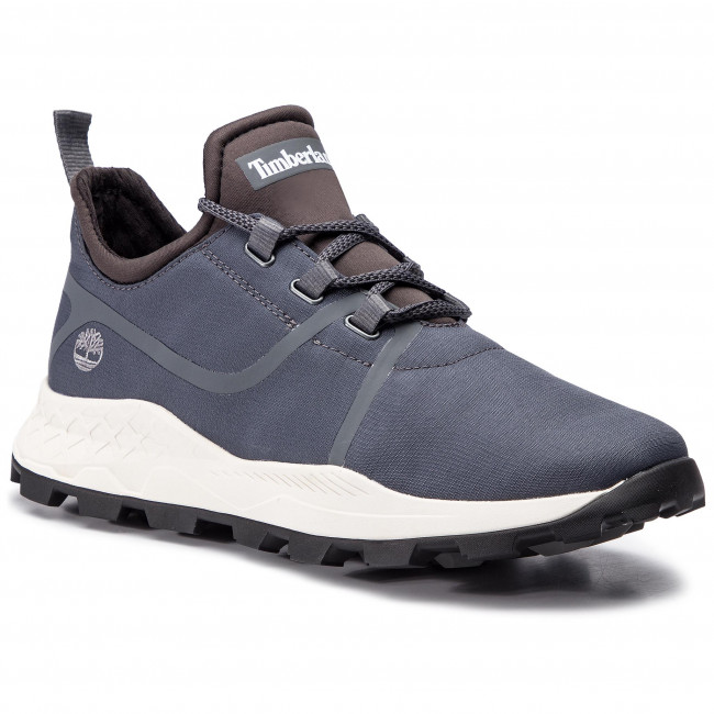 Timberland Brooklyn Lace Oxford Sneaker Men medium grey suede