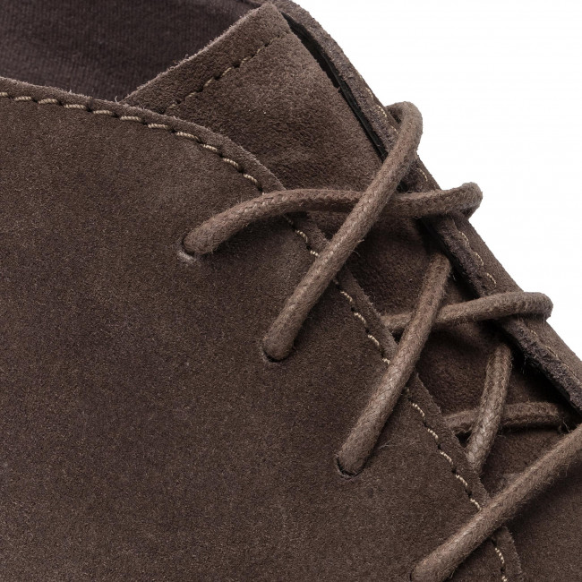 Boots CLARKS Paulson Mid 261447887 Taupe Suede