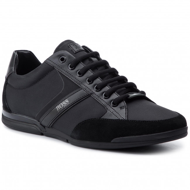 581d25e063a Sneakers BOSS - Saturn 50407672 10216105 01 Black 001 - Sneakers ...